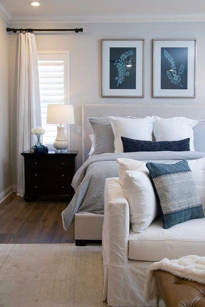 Coastal Transitional Bedroom