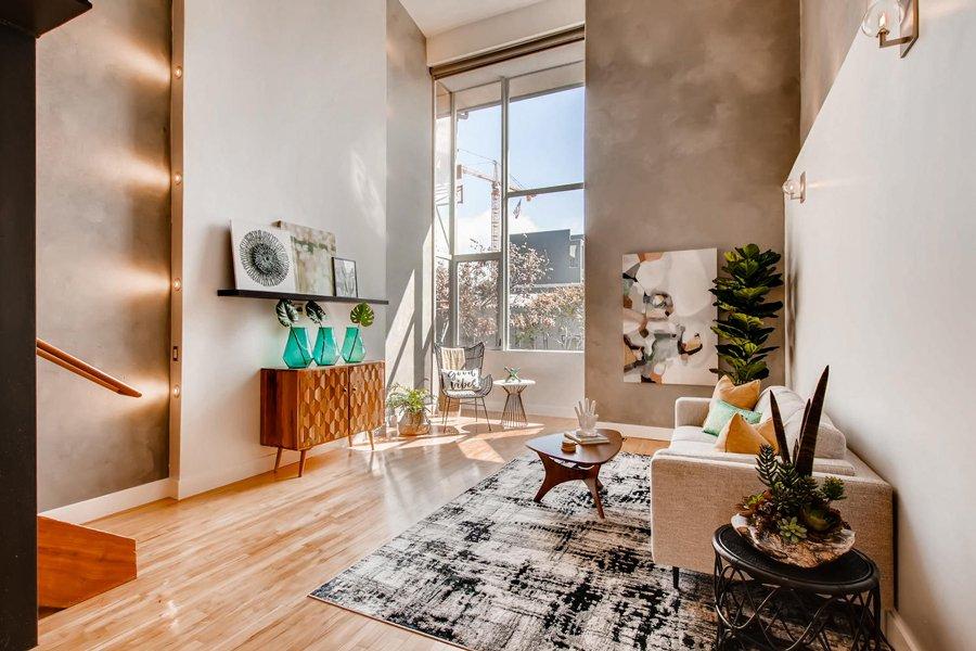 Urban Downtown San Diego living Room