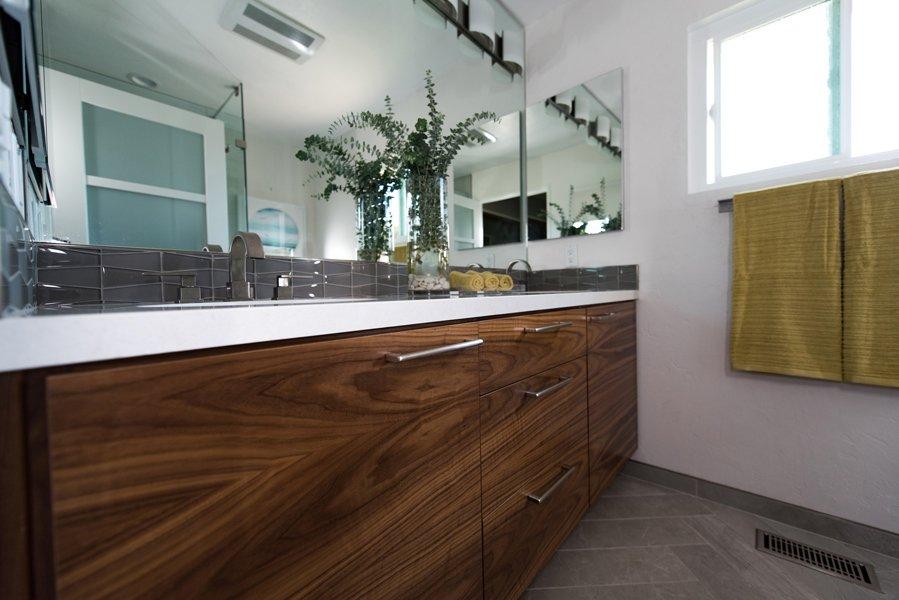 Modern Mid Century Bathroom Sharon Fox Designs
